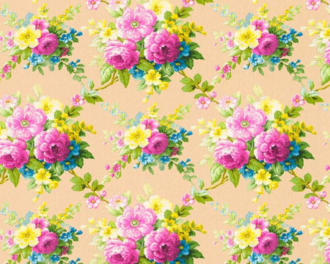 coloured romantic, love blossom, IPHEPHA - Das perfekte Wandkleid, Tapeten Online-Shop