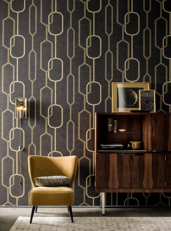 golden 20's, ordinary extraordinary, IPHEPHA - Das perfekte Wandkleid, Tapeten Online-Shop